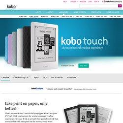 Kobo Touch Desktop