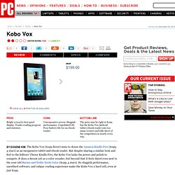 Kobo Vox Review & Rating