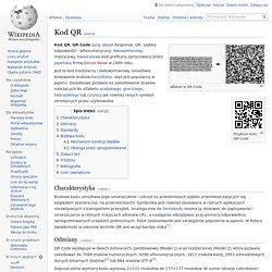 O kodach QR z Wikipedii