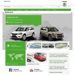 Homepage Škoda Auto -