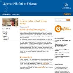 Qr-koda vad du vill och bli mer trådlös - Ivana Eklund