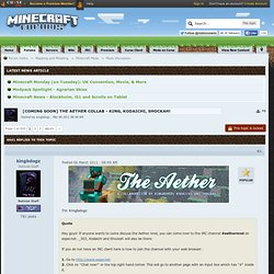 [Coming Soon] The Aether Collab - King, Kodaichi, Shockah! - Minecraft Forums