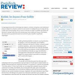 Kodak: les leçons d'une faillite