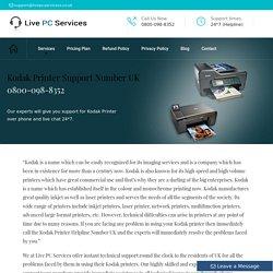 KODAK Printer UK +44-800-098-8352 Customer Care Number
