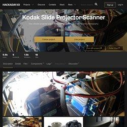 Kodak Slide Projector Scanner