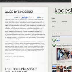 Peer-to-Peer Office Sharing - Kodesk - Peer-to-Peer Office Sharing - Kodesk