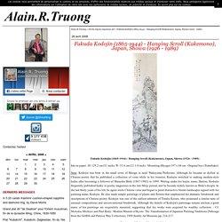 Fukuda Kodojin (1865-1944) - Hanging Scroll (Kakemono), Japan, Showa (1926 - 1989) - Alain.R.Truong