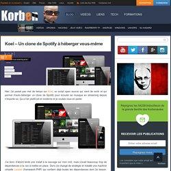 Koel – Un clone de Spotify à héberger vous-même «