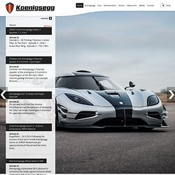 Koenigsegg | Official website of the Swedish super sports car manufacuturer