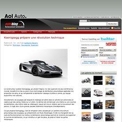 Koenigsegg prépare une révolution technique