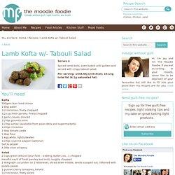 Lamb Kofta w/- Tabouli Salad