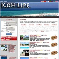 Koh Lipe Hotels