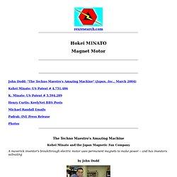 Kohei Minato: Magnet Motor