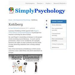 Kohlberg - Moral Development
