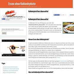 Kohlenhydratfreie Lebensmittel - Liste & Anleitungen
