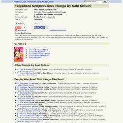 Koigokoro Senpukuchuu Manga Online by Saki Shiumi