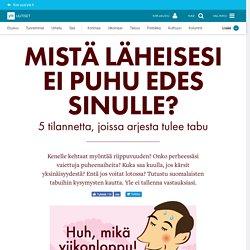 Kokeile, tunnetko suomalaisten tabut –vertaa itseäsi muihin