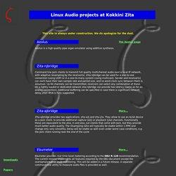 Kokkini Zita - Linux Audio