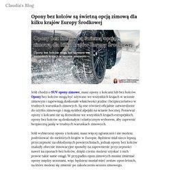 Opony bez kolców są świetną opcją zimową dla kilku krajów Europy Środkowej — Claudia's Blog