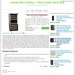 Koldfront 32 Bottle Free Standing Dual Zone Wine Cooler – Black and Stainless Steel