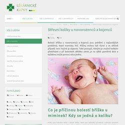 Střevní koliky u novorozenců a kojenců / Lékarnické kapky