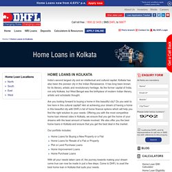 Home Loans in Kolkata, Housing Finance Company in Kolkata - DHFL