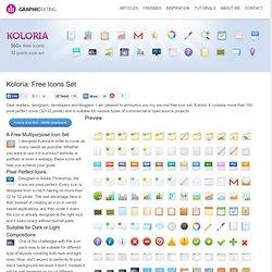 Koloria: Free Icons Set