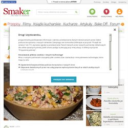 Kolorowa sałatka z tuńczykiem - przepis ze Smaker.pl