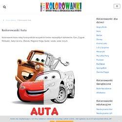 Kolorowanki Auta z bajki Cars dla dzieci