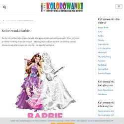 Kolorowanki Barbie do wydruku