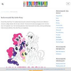 Kolorowanki My Little Pony do druku