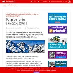 Školski portal ‐ Jučer/danas/sutra - Pet planina do samopouzdanja