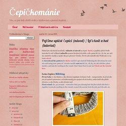 Čepičkománie: Pojďme uplést čepici (návod) / Let's knit a hat (tutorial)