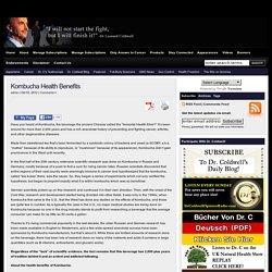 Kombucha Health Benefits - Dr. Leonard Coldwell.com