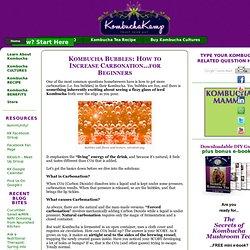 Kombucha Carbonation Tips – Part 1