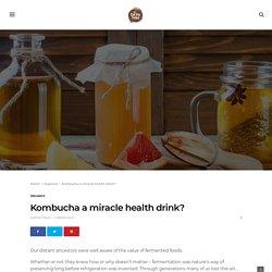 Kombucha: Know About Refreshing Fermented Kombucha Tea