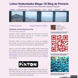 Lehen Hezkuntzako Bloga / El Blog de Primaria