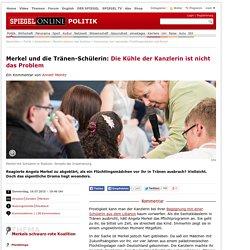 Merkel und die Tränen-Schülerin: Die Kühle der Kanzlerin ist nicht das Problem