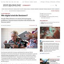 Aus den Kommentaren: Wie digital sind die Senioren?