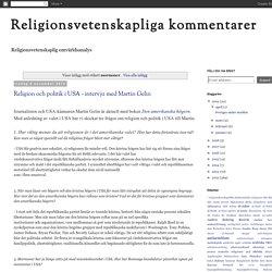 Religionsvetenskapliga kommentarer: mormoner