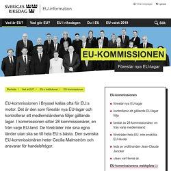 EU-kommissionen - Sveriges riksdags EU-information