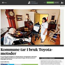 Kommune tar i bruk Toyota-metoder
