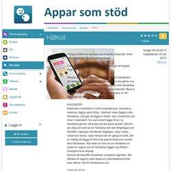 Appar som stöd - Appar som ger stöd vid kognitiva eller kommunikativa svårigheter