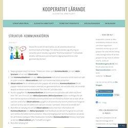 Struktur: Kommunikatören – Kooperativt lärande
