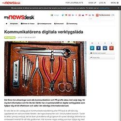 Kommunikatörens digitala verktygslåda - Mynewsdesk