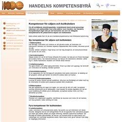 Kompetenser för säljare och butiksledare