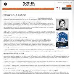 Gothia Fortbildning – kompetensutveckling för professionella - Hanna Stehagen om språkutvecklande undervisning