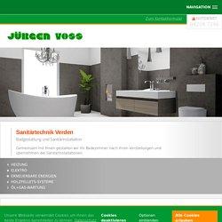 Kompetente Sanitärtechnik in Verden und Umgebung