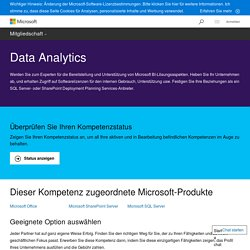 Kompetenz Data Analytics