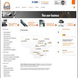 kompiuterinės kasos sistemos ir mobili kompiuterinė įranga prekybos, gamybos, logistikos ir kitoms įmonėms.